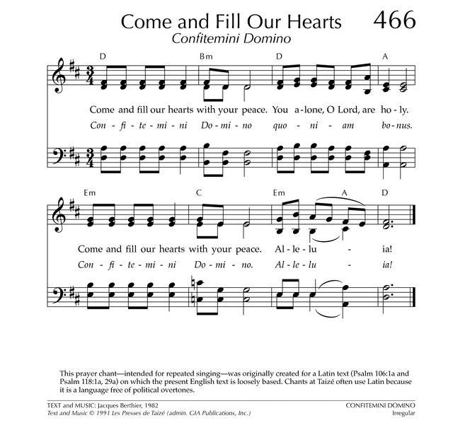 Songtext von Taizé - Adoramus te Domine Lyrics