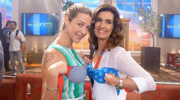 Luana Piovani reclama nos bastidores do programa 'Encontro', diz jornal | Notas TV - Yahoo TV