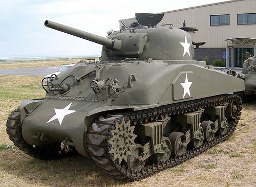 Sherman Tank. Check out Gable and Morgan's review of Elizabeth Enright's Then There Were Five here: http://chaptersandscenes.wordpress.com/2014/06/14/gable-and-morgan-review-then-there-were-five/