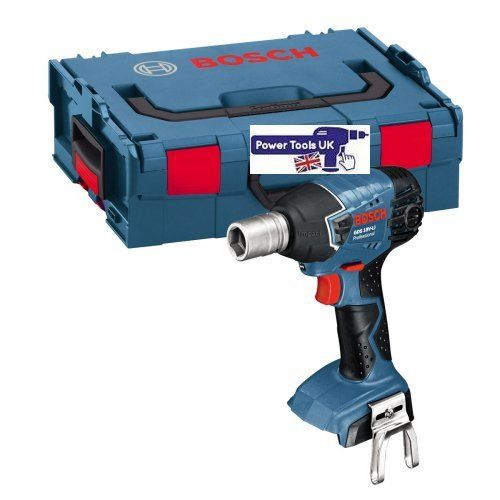 GDS18V-LINCG Impact Wrench + L-Boxx http://www.powertoolsuk.co.uk/bosch-gds18v-lincg-impact-wrench-18v-body-only-1-2-sq-dr-l-boxx.html