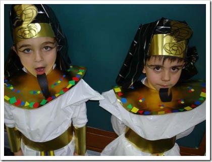 disfraz egipto niño