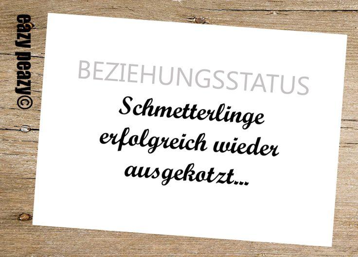 ★ BEZIEHUNGSSTATUS. ★ Postkarte von ★eazy peazy★ auf DaWanda.com