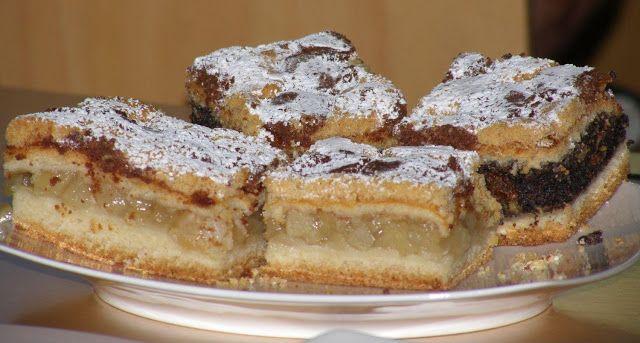 dessert, cuisine polonaise, tarte aux pommes sablée saveur cannelle