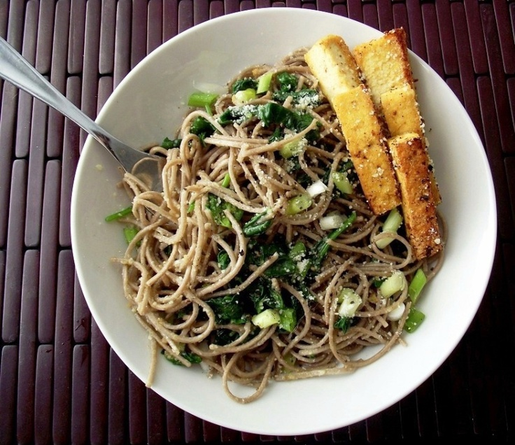 Recipe: Garlic-Parmesan Soba Noodles | Poor Girl Eats Well — How to ...