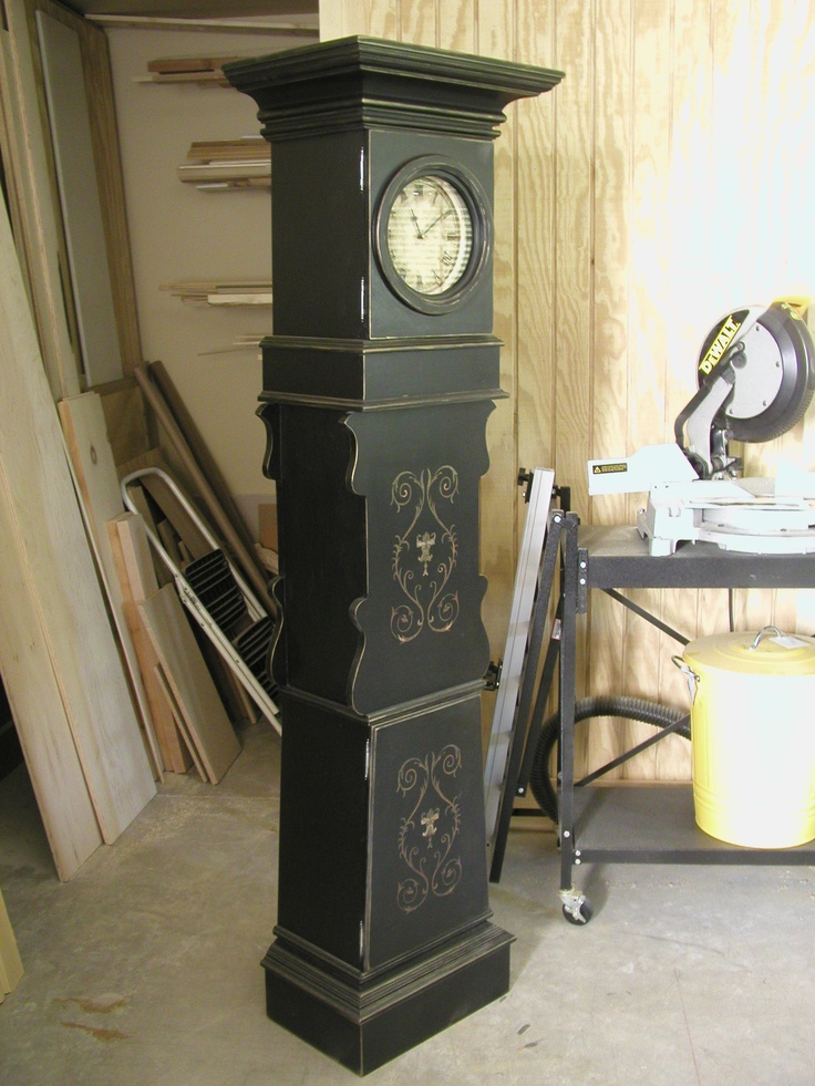 Build A Grandfather Clock From Scratch Woodworking