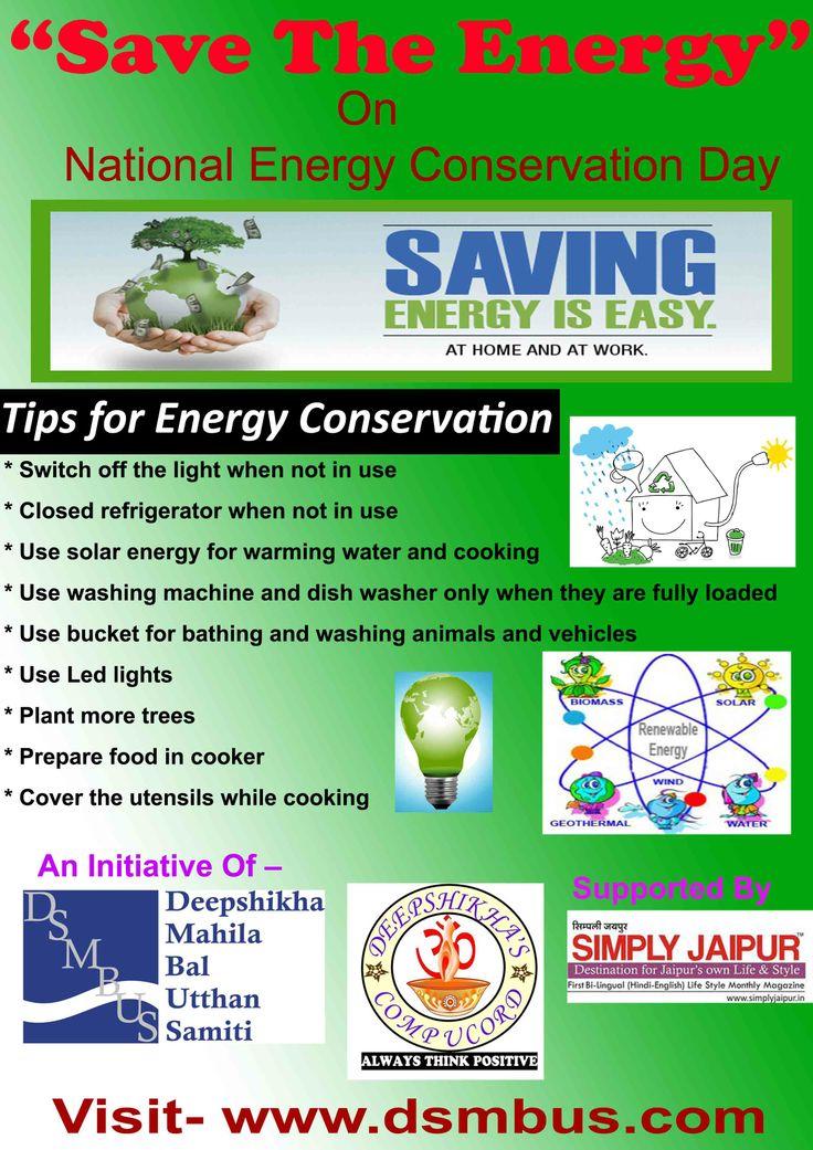 Energy-Saving Movement Of The National