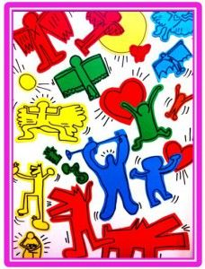 A list of keith haring lesson plans. You can sort them by age group. really like this.