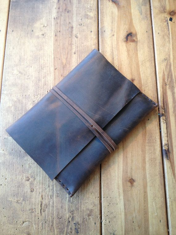 Sale Ipad leather case by Aixa on Etsy par LUSCIOUSLEATHERNYC, $59,00