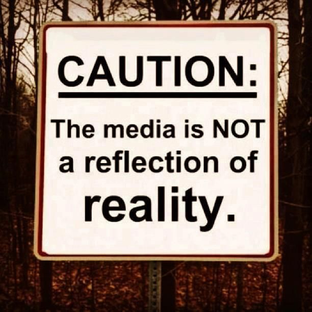 """Caution: The media is NOT a reflection of reality.""  ...Not even if it proclaims itself to be in a ""no-spin zone.""  Follow this link to explore what Stuart Hall meant by the politics of representation: http://www.thesociologicalcinema.com/videos/neil-degrasse-tyson-and-the-politics-of-representation"
