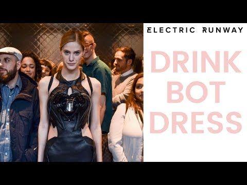 Anouk Wipprecht Debuts Drinkbot Dress in Toronto — Electric Runway
