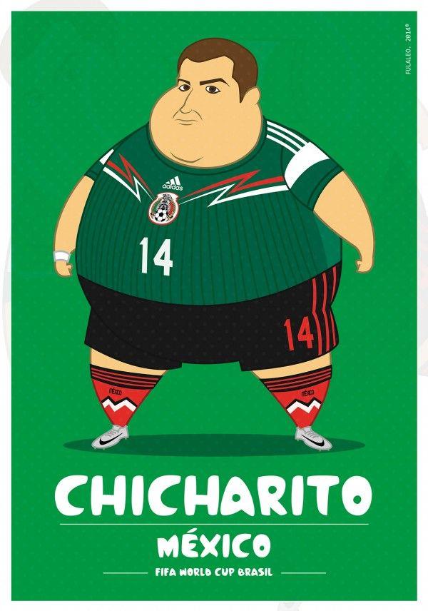 Si les joueurs de foot de la CDM étaient gros ?