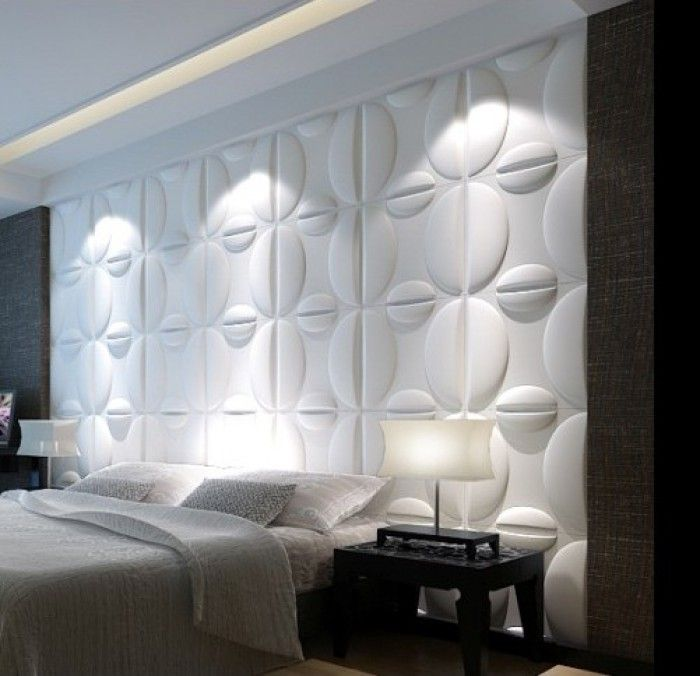 behangpapier voor slaapkamer met 3d
