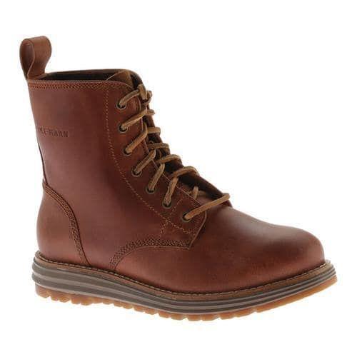 Women's Cole Haan Lockridge Grand 6in Waterproof Lace Up Boot Woodbury Waterproof Leather