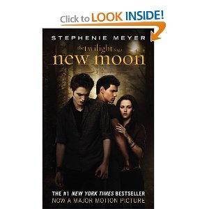 New Moon by Stephenie Meyer. Twilight Saga book 2. Independent Reading. 06-21-11 through 08-28-11.