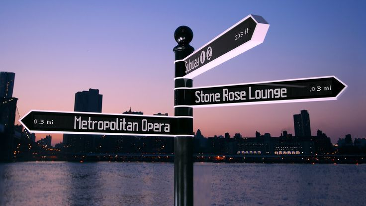 Points - The Most Advanced Directional Sign on Earth. Winner Cannes Innovation Lions  2014.