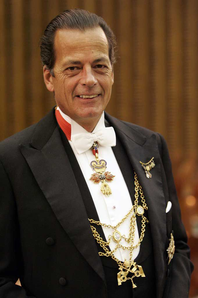 Mariano Hugo, Prince of Windisch-Graetz, Gentleman of His Holiness, Ambassador of the Sovereign Military Order of Malta to the Republic of Slovenia