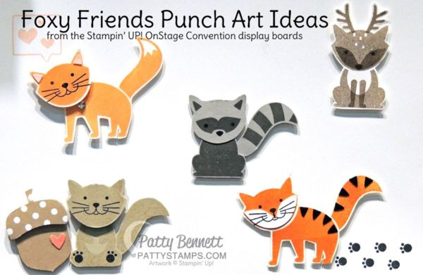 Warning! New Stampin' Up! Catalog SNEAK PEEK!!  Foxy Friends bundle! I'm super excited to share a sneak peek of a new 2016-2017 Stampin' Up! bundle with you, but if you prefer to wait and see it
