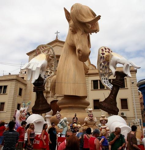 Falla Hernán Cortes de Manolo Garcia (2009)