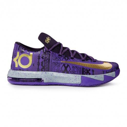 Nike Kd Vi Bhm 646742-500 Sneakers — Basketball Shoes at CrookedTongues.com