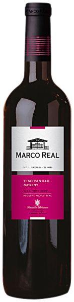 Marco Real Tinto - Bodega Marco Real - Tempranillio, Cabernet Sauvignon, Merlot, Syrah - DO Navarra - Navarra, Spanje - www.vinthousiast.be - Wijnen Vinthousiast, Rupelmonde (Kruibeke)