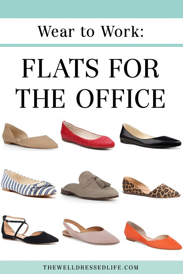 c6827a4a8 Wear to Work: Flats for the Office | Business Lifestyle | Casual office wear,  Office wear, Flat shoes outfit
