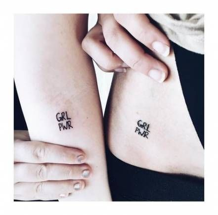 48 Trendy Tattoo Girl Small Best Friends