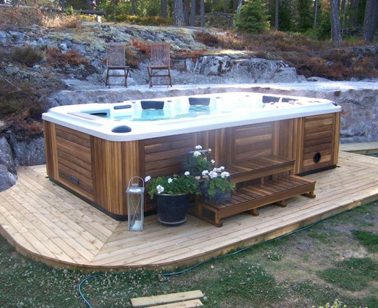 104 besten Garten Bilder auf Pinterest - outdoor whirlpool garten spass bilder