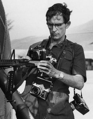 Larry Burrows died with fellow photojournalists Henri Huet, Kent Potter and Keisaburo Shimamoto, when their helicopter was shot down over Laos in 1971.