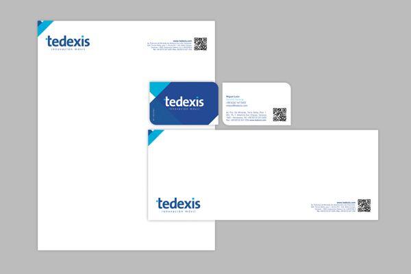 TEDEXIS by Omm Agency , via Behance