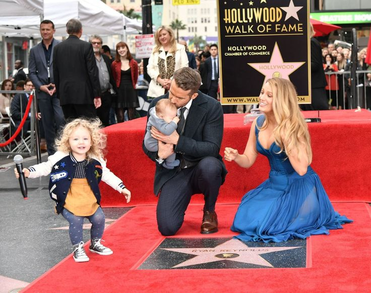 Stop Everything: Ryan Reynolds and Blake Lively Finally Debuted Their Daughters to the World  - MarieClaire.com