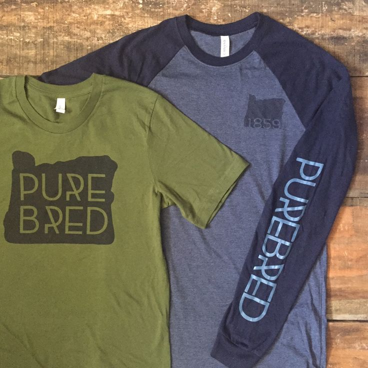 Oregon inspired clothing -Purebred Threads