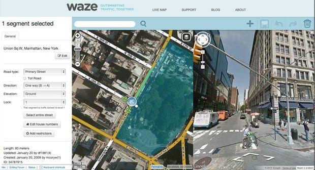 Dois meses após adquirir a Waze, o Google anuncia nesta terça (20) a integração do app com o Google Maps, que passará a exibir em tempo real informações sobre acidentes de trânsito e interrupções nas vias. Do outro lado, o Waze também será beneficiado, permitindo buscas e a visão de imagens do trajeto. No G1 Tecnologia.
