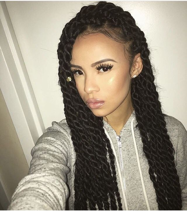 hair braiding twisting styles 25 best ideas about jumbo twists on bo 238 te 9740 | ef151215c6e2d9240c2d60acd68ede70
