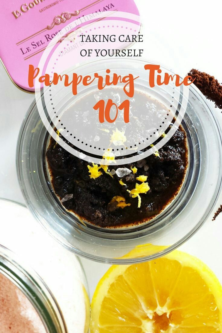 Take time for yourself - here's how:  https://samanthacarraro.wordpress.com/2017/05/18/pampering-time-101/ #DIY #scrub #fitness #health #pampering #movie #music #guide #workout
