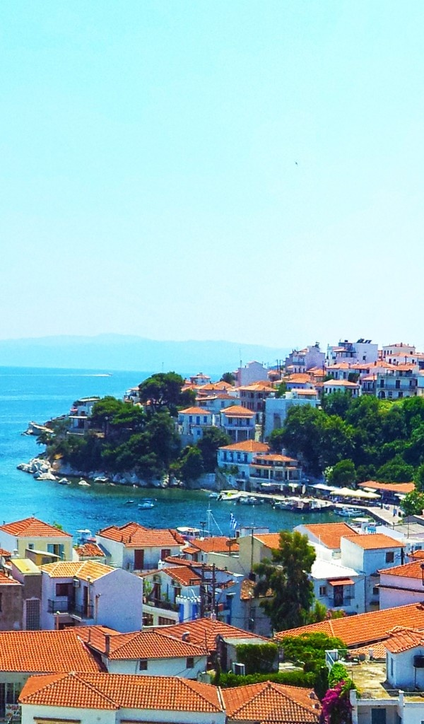 Skiathos a happy island one where I have friends too