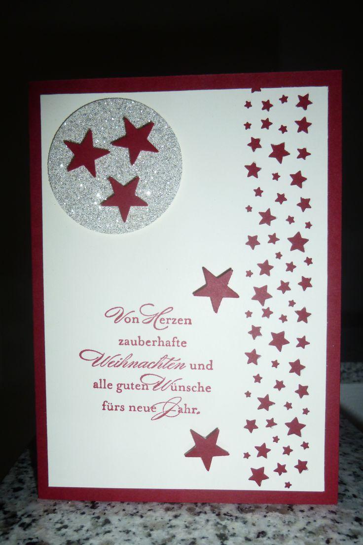 89 besten stanze sternenkonfetti bilder auf pinterest weihnachtskarten basteln weihnachten. Black Bedroom Furniture Sets. Home Design Ideas