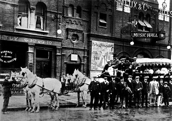 The Star Music Hall, Albion Street, Bermondsey, London, c1914-18.