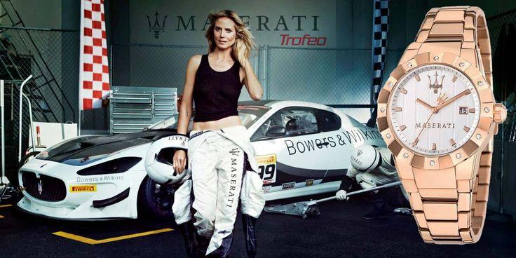 Ben jij op zoek naar bijzondere horloges? De Maserati Tridente is stoer, sportief en elegant tegelijk, de Tridente horloges zijn er in dames en heren uitvoering.