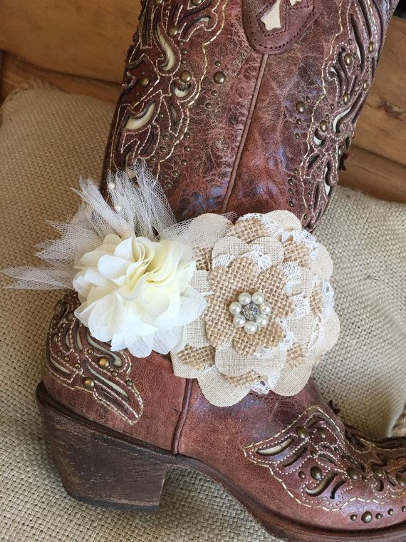Lace Boot Cuff Bracelet / Garter  Gypsy Boots by GLITTERnGUNPOWDER