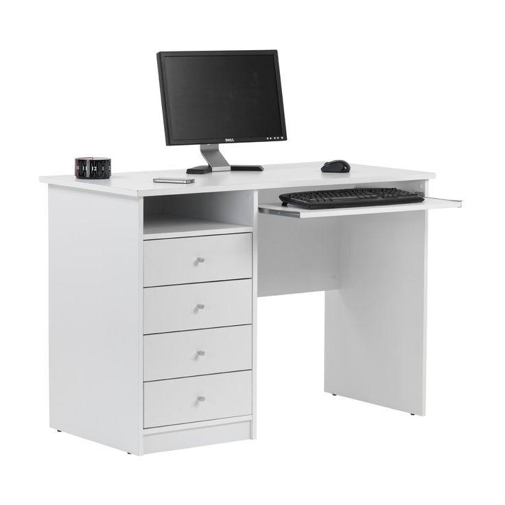 239 best Computer Desk Ideas images on Pinterest   Corner computer ...