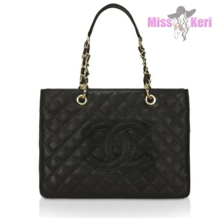 Сумка Chanel Caviar Shopping черная купить, цена, интернет-магазин, отзывы