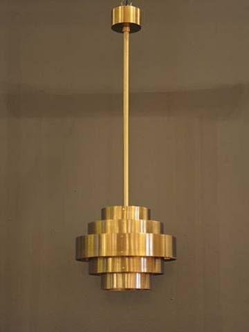 Jules Wabbes, Ceiling Lamp, 1950.