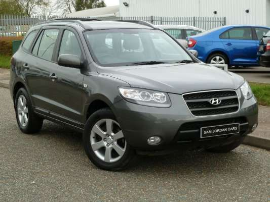 Used 2006 (06 reg) Grey Hyundai Santa Fe 2.2 CRTD CDX 5dr [7 Seats] for sale on RAC Cars