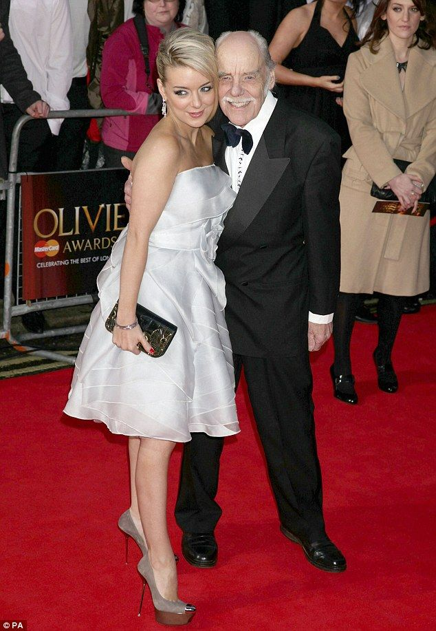 Loss: Sheridan Smith's father Colin, pictured together in 2011, has lost his battle with c...