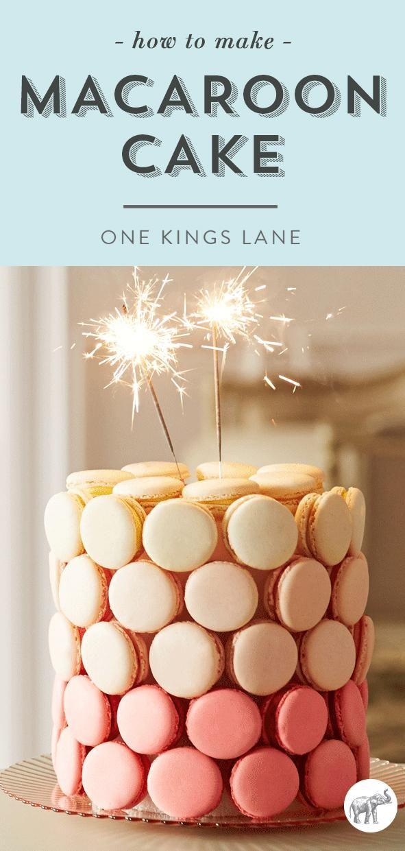 Macaroon Cake Tower Uk