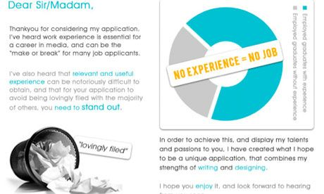 How to create an infographic CV | Guardian Jobs