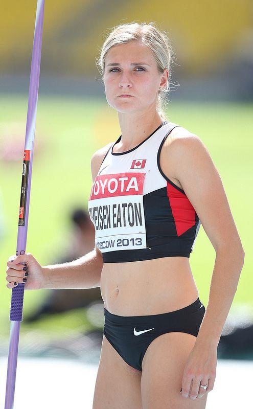 Brianne Theisen-Eaton - Heptathlon Javelin