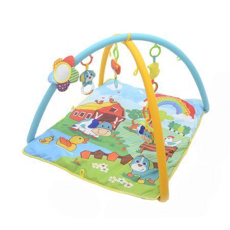 Paturica bebelusi Parkfield cu 2 arcade si 5 accesorii