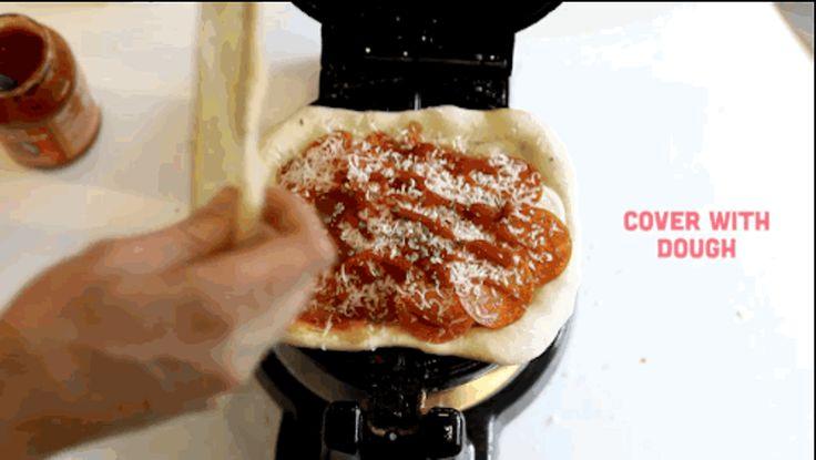 Opskrift: Pizza-vafler   Stylista.dk