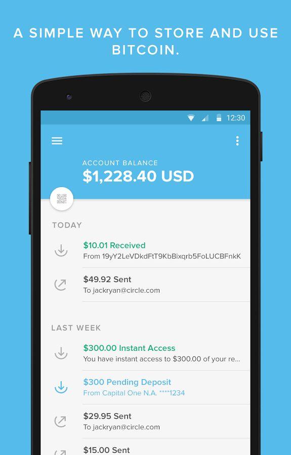 Circle Financial  Online wallet - Ethereum wallet - Bitcoin wallet
